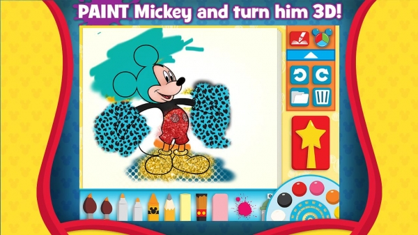 「Mickey's Color and Play!」のスクリーンショット 2枚目