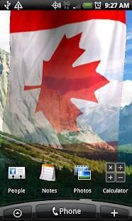 「NA Flags Live Wallpaper」のスクリーンショット 3枚目