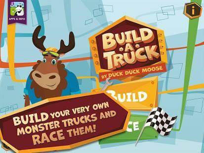 「Build A Truck -Duck Duck Moose」のスクリーンショット 1枚目