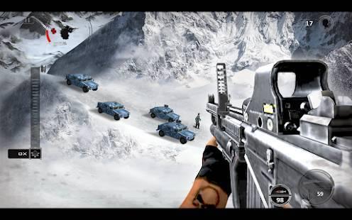 「Mountain Sniper Shooting: 3D FPS」のスクリーンショット 1枚目