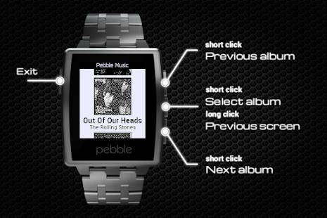 「Music Player for Pebble」のスクリーンショット 3枚目