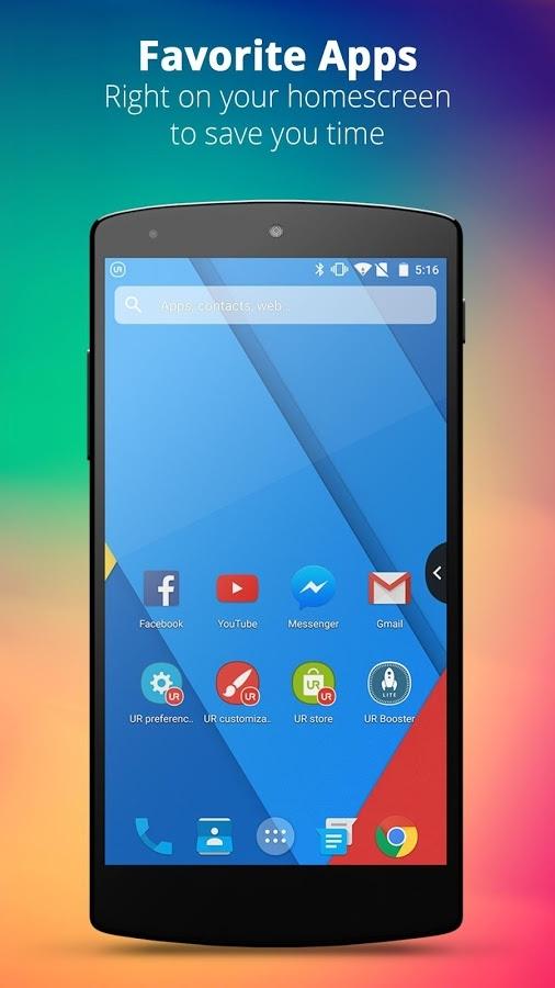 「UR 3D Launcher—Customize Phone」のスクリーンショット 2枚目