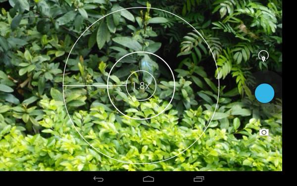 「Android用カメラ」のスクリーンショット 3枚目