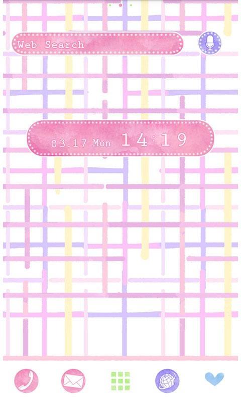 「春壁紙 Sweet Tweed」のスクリーンショット 1枚目
