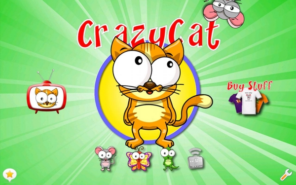 「Crazy Cat - The Game for Cats!」のスクリーンショット 1枚目