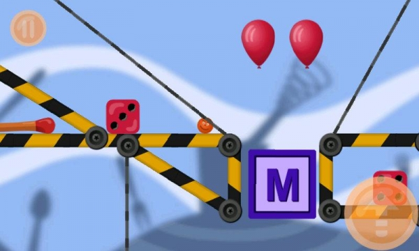 「MiniLand (physics 2d)」のスクリーンショット 3枚目