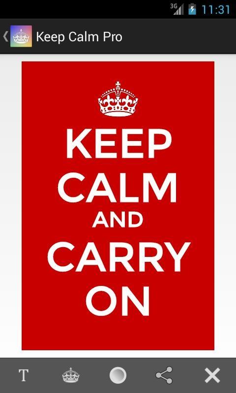 「Keep Calm Pro」のスクリーンショット 1枚目