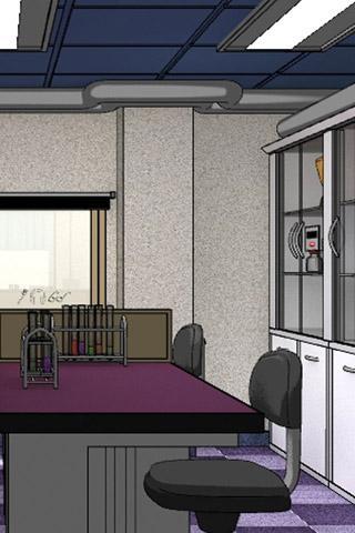 「脱出ゲーム:不審な研究室」のスクリーンショット 1枚目