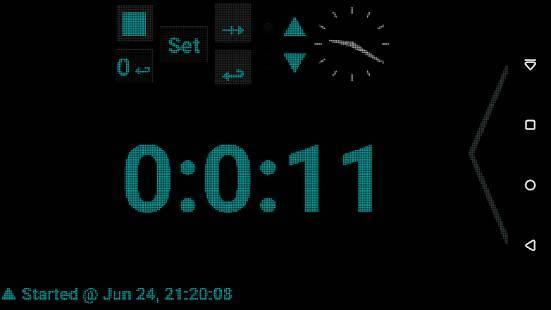 「タイマー時間管理」のスクリーンショット 1枚目