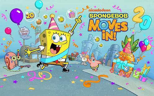 「SpongeBob Moves In」のスクリーンショット 1枚目