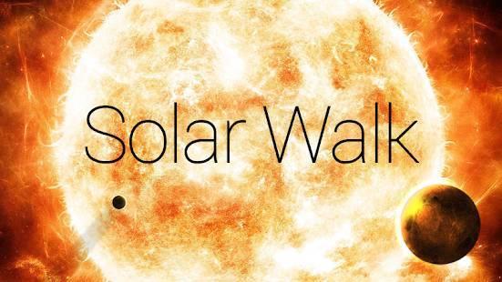 「Solar Walk - 太陽系シミュレーション、惑星、衛星、星、彗星および他の天体3D」のスクリーンショット 1枚目