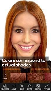 「Hair Color Studio Premium」のスクリーンショット 3枚目