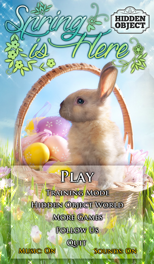 「Hidden Object - Spring is Here」のスクリーンショット 3枚目