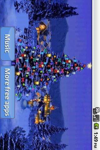 「睡眠のためのクリスマスソング」のスクリーンショット 1枚目