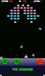 「The Zoidians Invaders」のスクリーンショット 3枚目