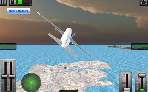 「フライトシミュレータボーイング3D」のスクリーンショット 1枚目
