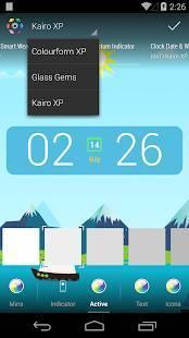 「Kairo XP (for HDウィジェット)」のスクリーンショット 2枚目