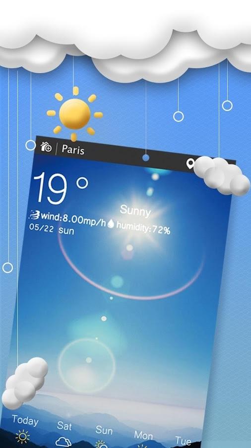 「Weather 天気予報」のスクリーンショット 1枚目