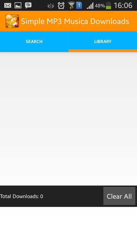 「シンプルなMP3音楽ダウンロード」のスクリーンショット 2枚目