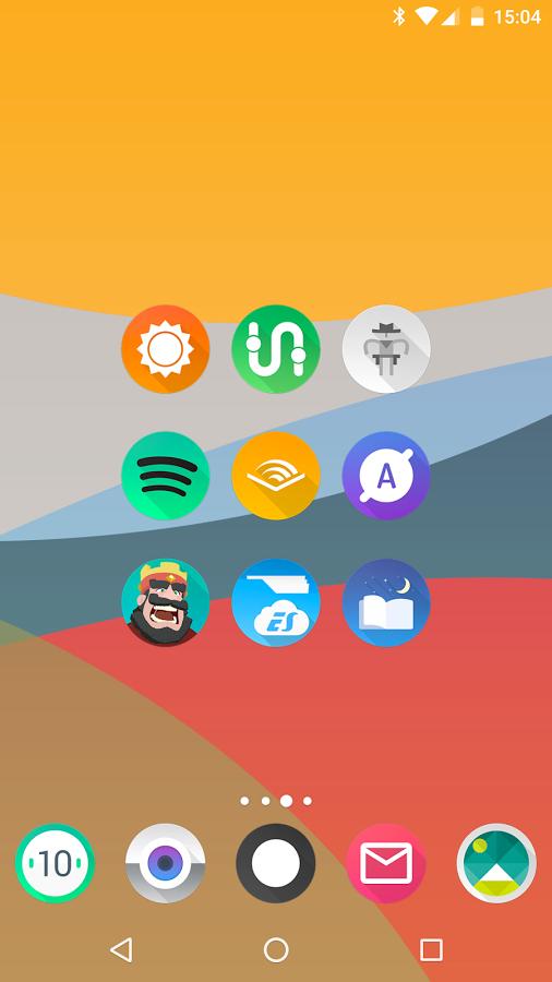 「Aurora UI - Icon Pack」のスクリーンショット 2枚目