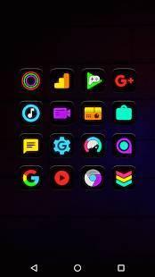 「Neon Glow - Icon Pack」のスクリーンショット 3枚目