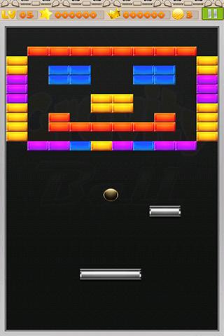 「Brick break - Gravity Ball」のスクリーンショット 2枚目
