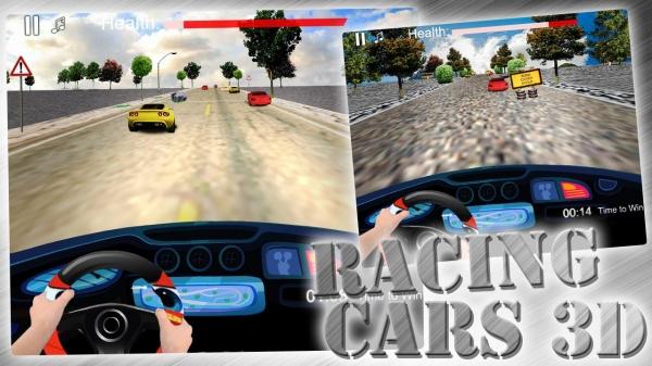 「Racing Cars 3D - Speed Car」のスクリーンショット 1枚目