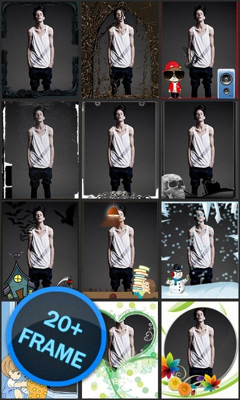 「Bokeh Camera - Photo Frame」のスクリーンショット 3枚目