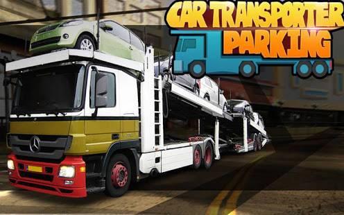 「車のトランスポーターの駐車ゲーム」のスクリーンショット 1枚目