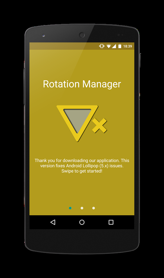 「Rotation Manager - Control ++」のスクリーンショット 1枚目