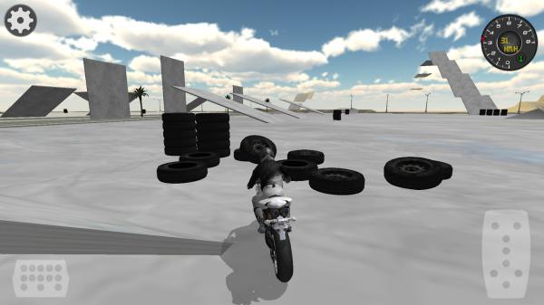 「Extreme Motorbike Racer 3D」のスクリーンショット 2枚目