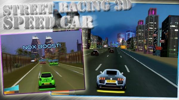 「Street Racing 3D - Speed Car」のスクリーンショット 2枚目