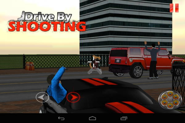 「Drive By Shooting (3d Game)」のスクリーンショット 3枚目
