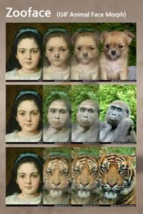 「Zooface - GIF Animal Morph」のスクリーンショット 2枚目