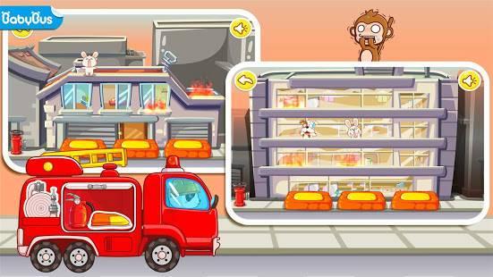 「パンダの消防士ーBabyBus 子ども・幼児教育アプリ」のスクリーンショット 1枚目