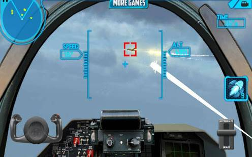 「スカイパイロット3Dストライク戦闘機」のスクリーンショット 3枚目