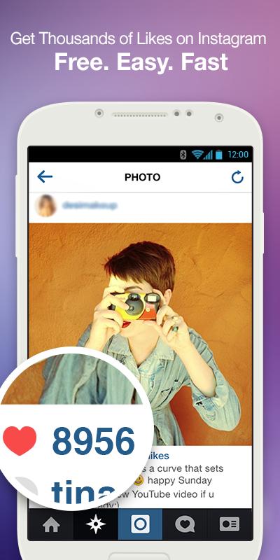 「5000 Likes FREE for Instagram」のスクリーンショット 1枚目