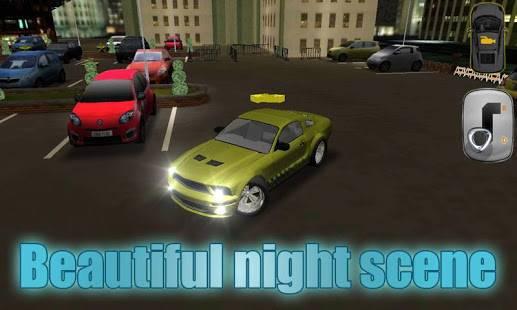 「ナイトカーズ市駐車場3D」のスクリーンショット 1枚目