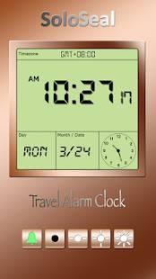 「旅行目覚まし時計」のスクリーンショット 2枚目