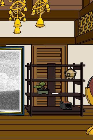 「脱出ゲーム: 本堂に潜む影」のスクリーンショット 3枚目