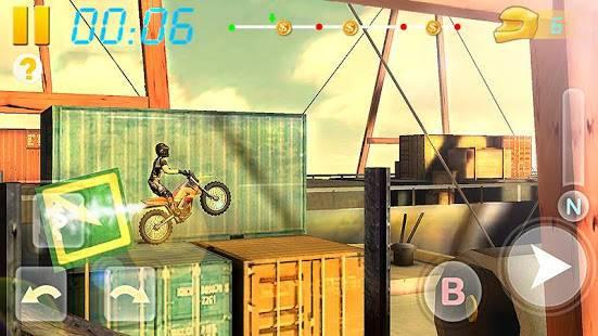 「バイクレーシング3D - Bike Racing」のスクリーンショット 1枚目