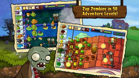 「Plants vs. Zombies FREE」のスクリーンショット 2枚目
