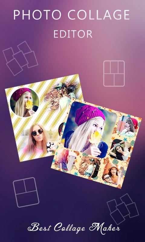 「Photo Collage Editor」のスクリーンショット 1枚目