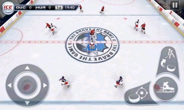 「アイスホッケー3D - Ice Hockey」のスクリーンショット 1枚目