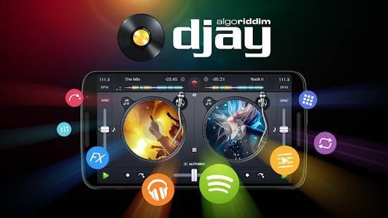 「djay FREE - DJ Mix Remix Music」のスクリーンショット 1枚目