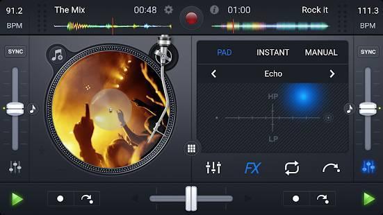 「djay FREE - DJ Mix Remix Music」のスクリーンショット 3枚目