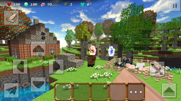 「SimpleCraft 2」のスクリーンショット 1枚目