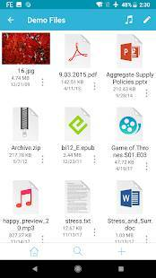 「FE File Explorer Pro - ファイルマネージャー」のスクリーンショット 3枚目
