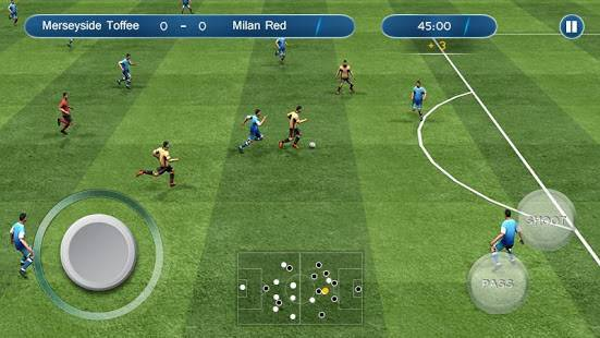 「アルティメットサッカー Ultimate Football」のスクリーンショット 1枚目