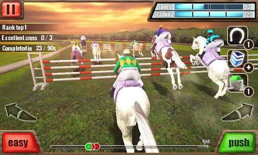 「競馬 3D - Horse Racing」のスクリーンショット 1枚目